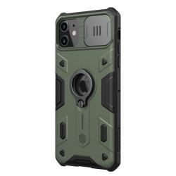 iPhone 11 Pro Armor калъф със защита на камерата зелен