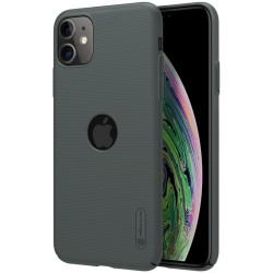 iPhone 11 калъф твърд гръб Nillkin тъмно зелен