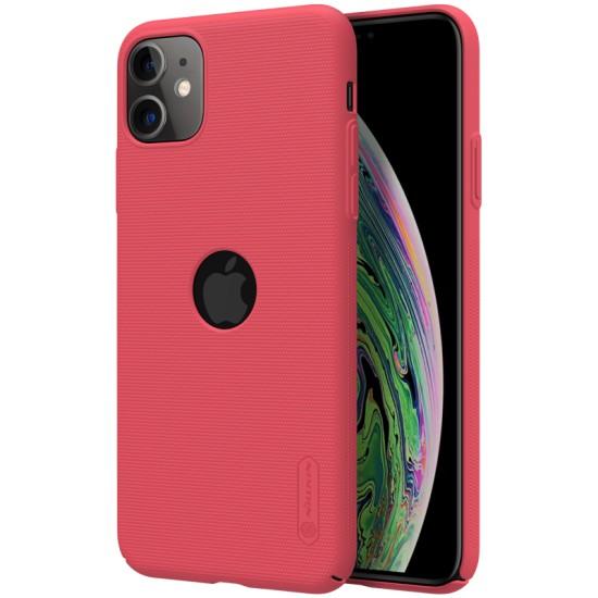 iPhone 11 калъф твърд гръб Nillkin червен