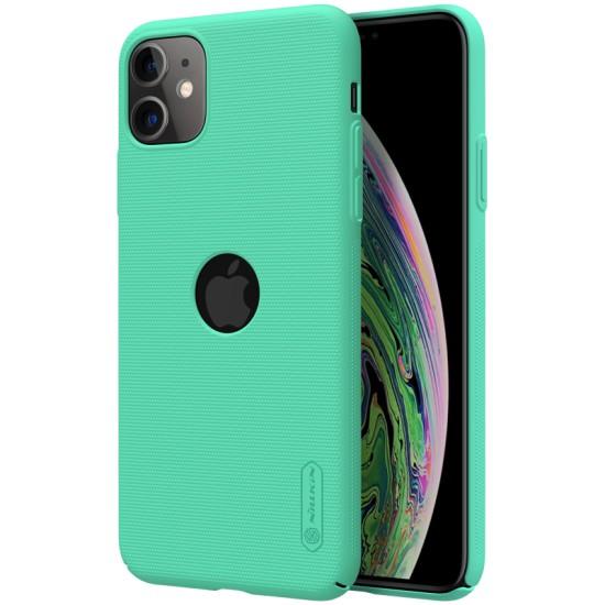 iPhone 11 калъф твърд гръб Nillkin ментово зелен