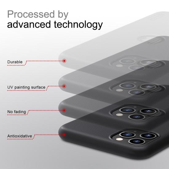 iPhone 11 Pro калъф твърд гръб Nillkin тъмно зелен