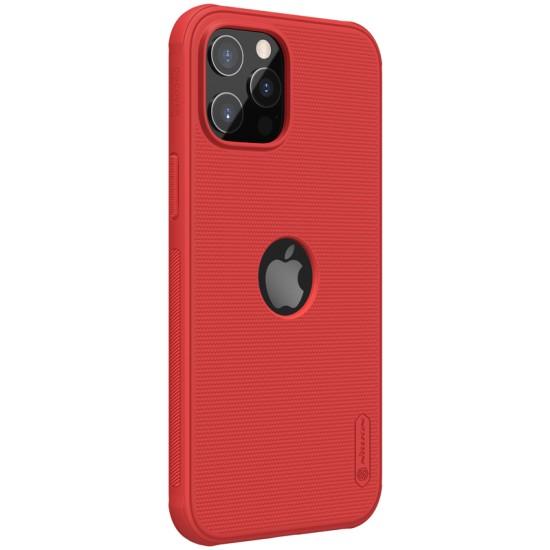 iPhone 12 / 12 Pro калъф твърд гръб Nillkin червен