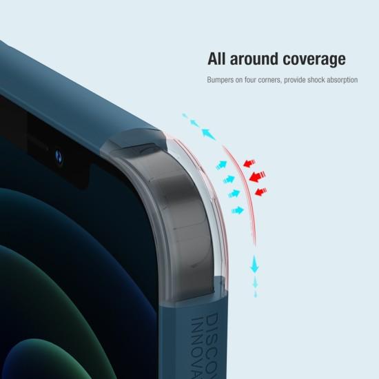 iPhone 12 / 12 Pro калъф твърд гръб Nillkin черен