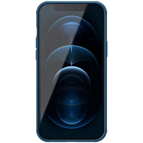 iPhone 12 / 12 Pro калъф твърд гръб Nillkin син