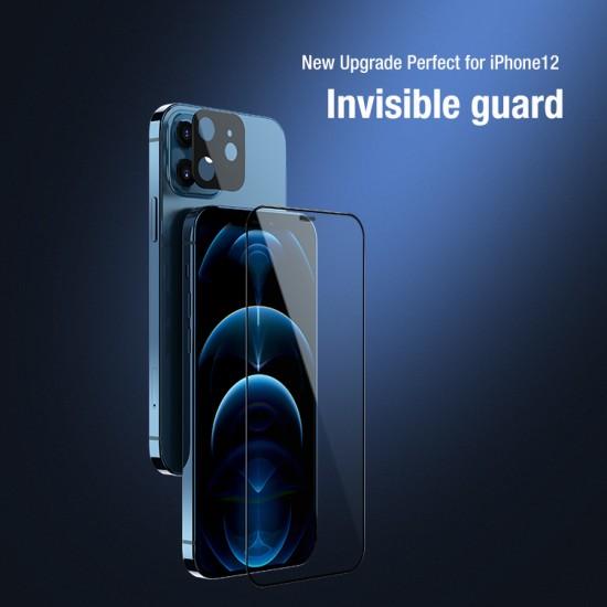 iPhone 12 Темперирано стъкло и защитно фолио за камерата Nillkin