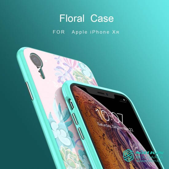Apple iPhone XR калъф Floral