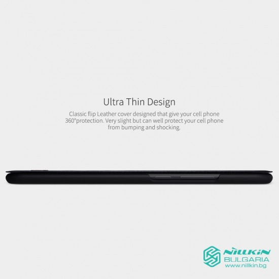 Кожен калъф QIN Nillkin за Huawei Mate 20 Lite