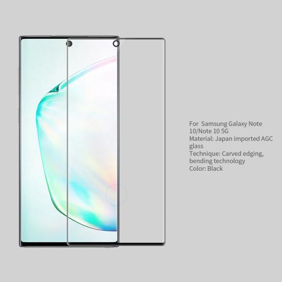 Samsung Note 10 темперирано стъкло 3D CP+MAX Nillkin