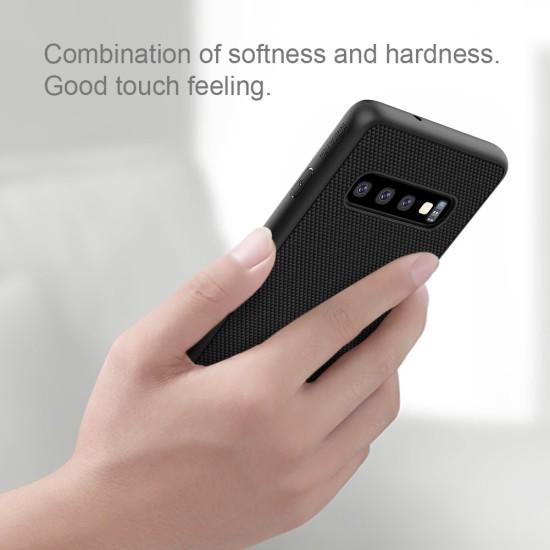 Samsung S10 textured калъф с твърд гръб Nillkin