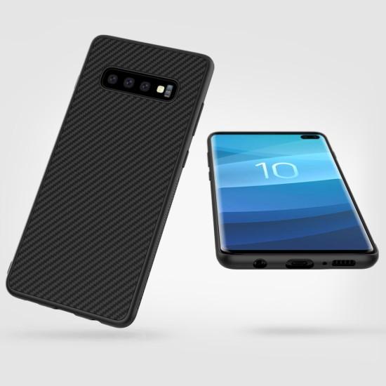 Samsung S10 Plus калъф Synthetic fiber Nillkin