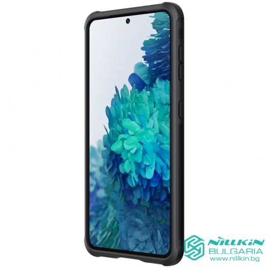 Samsung S21 твърд гръб със защита на камерата  Nillkin черен