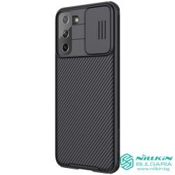 Samsung S21 Plus твърд гръб със защита на камерата  Nillkin черен