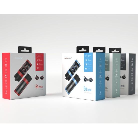 Безжични слушалки Nillkin GO TW004 сиви