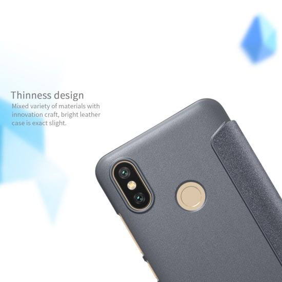 Nillkin смарт флип калъф за Xiaomi Mi A2 (Mi 6X)