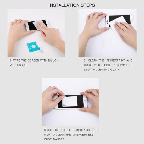 Mi Note 10 3D CP+Max Темперирано стъкло Nillkin