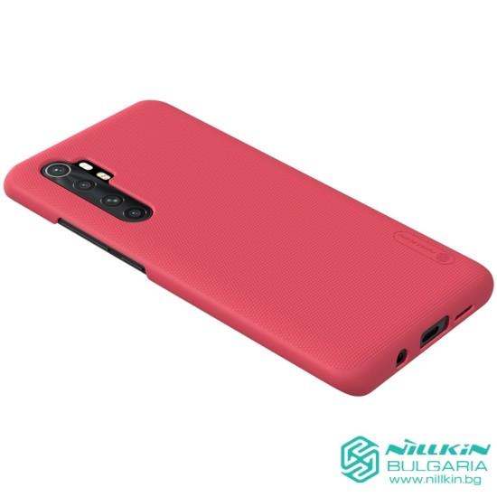 Mi Note 10 Lite калъф твърд гръб Nillkin червен