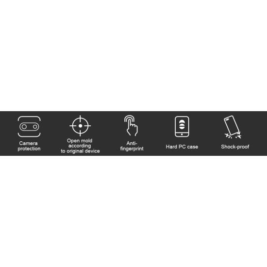 Mi Note 10 Lite калъф твърд гръб Nillkin черен