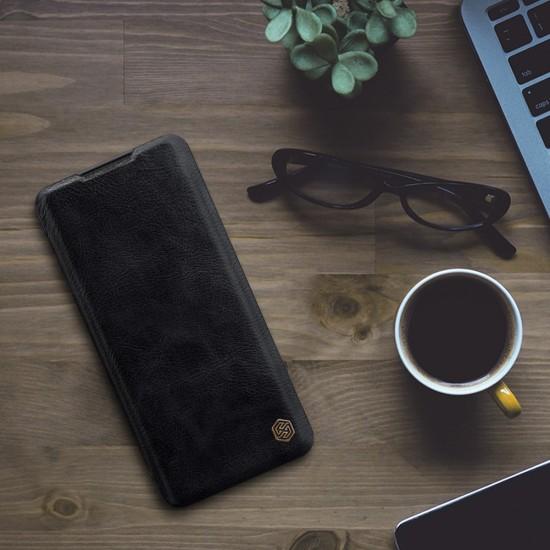 Mi Note 10 луксозен кожен калъф QIN Nillkin