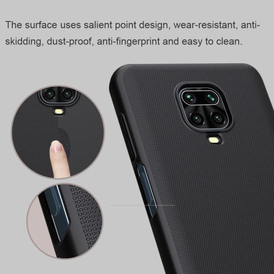 Redmi Note 9S / 9Pro калъф твърд гръб Nillkin черен