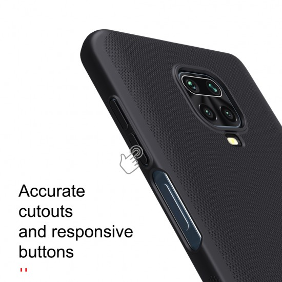 Redmi Note 9S / 9Pro калъф твърд гръб Nillkin червен