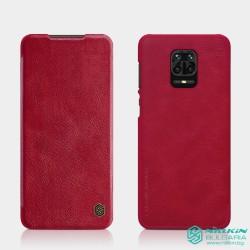Poco X3 NFC / Poco X3 Pro луксозен флип калъф QIN Nillkin червен