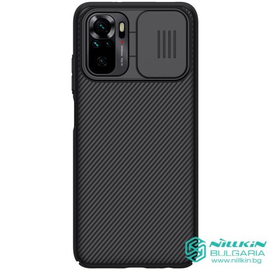 Redmi Note 10 5G / POCO M3 PRO 5G твърд гръб със защита на камерата  Nillkin черен