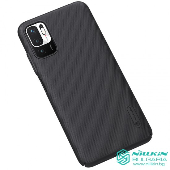 Redmi Note 10 5G / Poco M3 Pro 5G калъф твърд гръб Nillkin черен