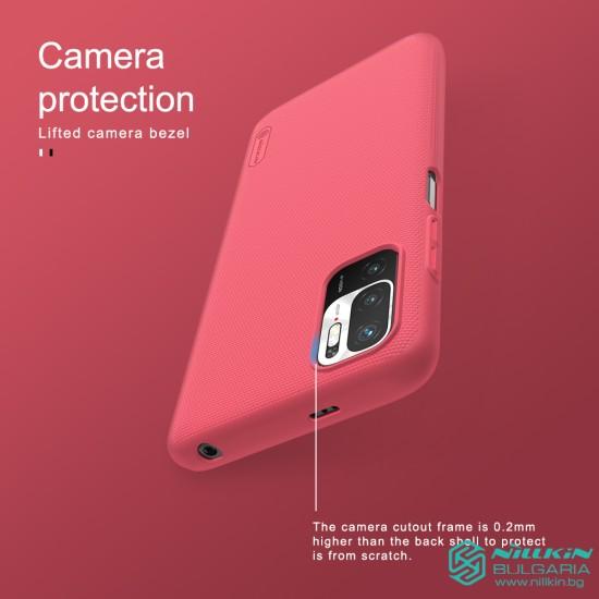 Redmi Note 10 5G / Poco M3 Pro 5G калъф твърд гръб Nillkin син
