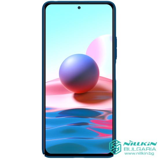 Redmi Note 10 Pro калъф твърд гръб Nillkin син