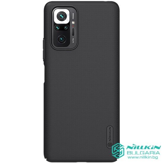 Redmi Note 10 Pro калъф твърд гръб Nillkin черен