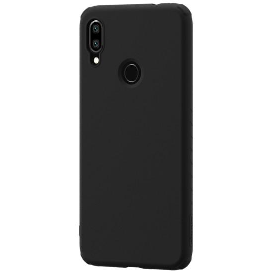 Redmi Note 7  гумиран калъф Rubber Wrapped Nillkin черен