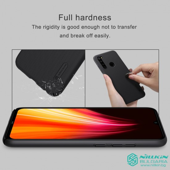 Redmi Note 8 калъф твърд гръб Nillkin черен