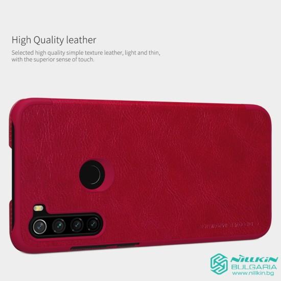 Redmi Note 8 луксозен кожен калъф QIN Nillkin черен