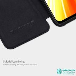 Redmi Note 8 луксозен кожен калъф QIN Nillkin червен