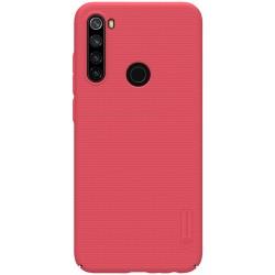 Redmi Note 8T калъф твърд гръб Nillkin Червен