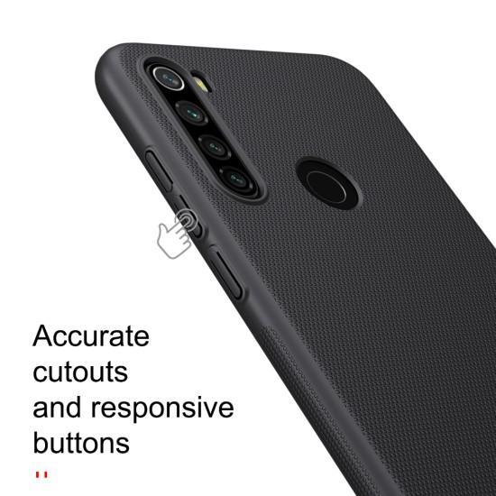 Redmi Note 8T калъф твърд гръб Nillkin черен