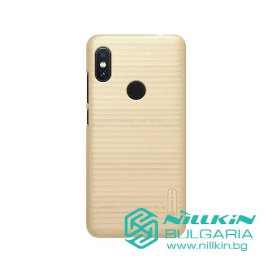 Redmi Note 6 Pro калъф с твърд гръб Nillkin златист